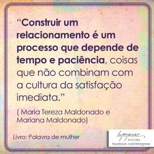 insta_27_07_Palavra de mulher_ Maria Tereza Maldonado, Mariana Maldonado_Integrare_Edit